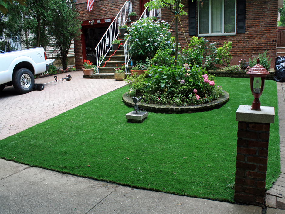 Fake Grass Carpet Calvert Texas Front Yard Design