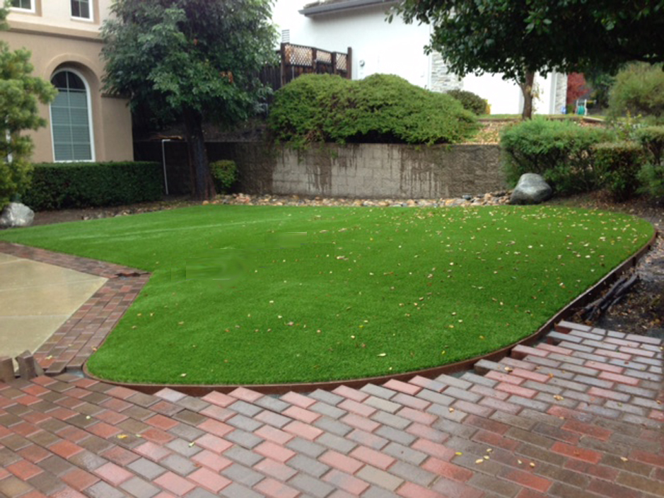 Artificial Grass: Installing Artificial Grass Oyster Creek, Texas Landscape Ideas, Front Yard Design