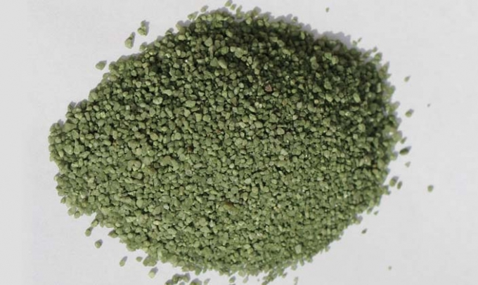Green Sand installgrass