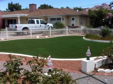 Artificial Grass Photos: Artificial Grass Installation Bolivar Peninsula, Texas Home And Garden, Front Yard