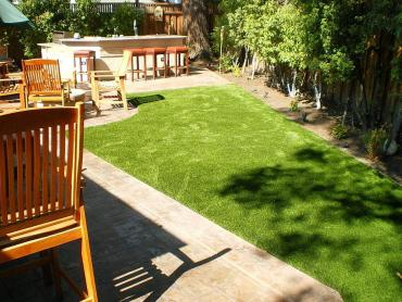 Artificial Grass Photos: Artificial Grass Installation Damon, Texas Roof Top, Backyard Landscaping Ideas