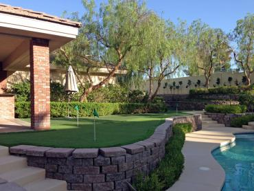 Artificial Grass Photos: Artificial Grass Installation Hackberry, Texas Lawns, Front Yard Landscaping