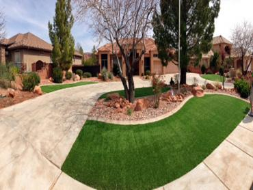 Artificial Lawn Crosby, Texas Landscaping, Front Yard Ideas artificial grass