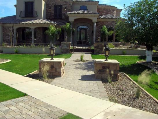 Artificial Grass Photos: Artificial Turf Installation Brazos Country, Texas Landscape Photos, Front Yard Design