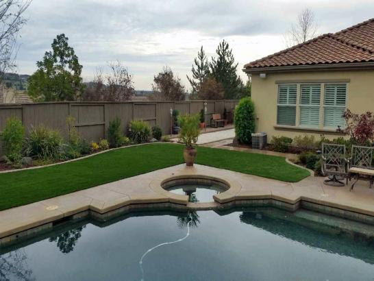 Artificial Grass Photos: Artificial Turf Installation Normangee, Texas Design Ideas, Swimming Pool Designs