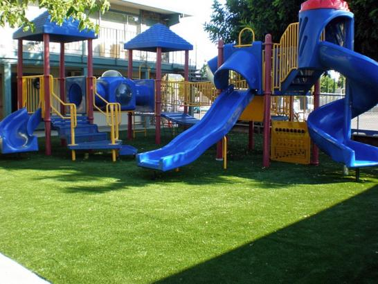 Artificial Grass Photos: Artificial Turf Installation Pine Forest, Texas Kids Indoor Playground, Commercial Landscape