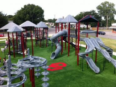 Artificial Grass Photos: Artificial Turf Liberty, Texas Athletic Playground, Recreational Areas