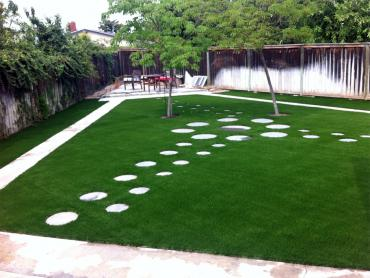 Artificial Turf North Cleveland, Texas Backyard Deck Ideas, Backyard Makeover artificial grass