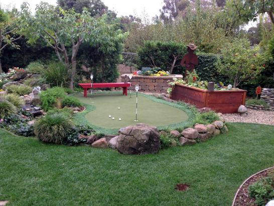 Artificial Grass Photos: Grass Installation The Woodlands, Texas Outdoor Putting Green, Backyard Ideas