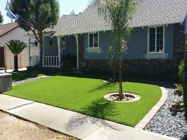 Artificial Grass Photos: Green Lawn Kyle, Texas Landscaping, Front Yard Landscaping Ideas