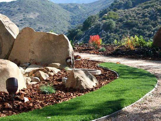 Artificial Grass Photos: Lawn Services Point Comfort, Texas Paver Patio, Front Yard Landscaping Ideas