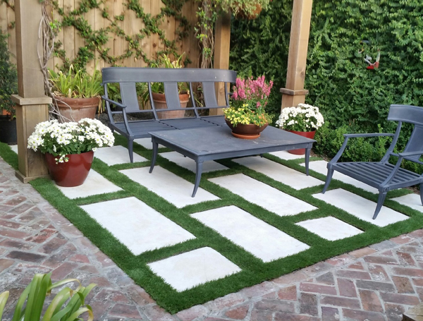 Artificial Grass Roofs, Decks, Patios